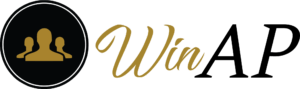 WinAP logo footer