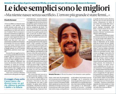 Gazzetta del sud Antonio Perrone